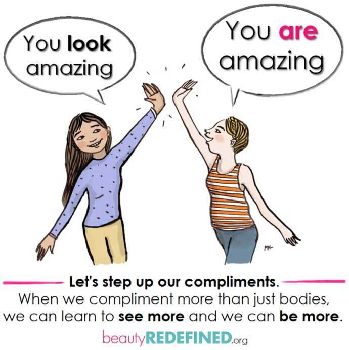 You ARE Amazing Compliment